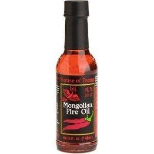 House of Tsang Oil, Mongolian Fire, 5-Ounce (Pack of 4) (House Of Tsang Mongolian Fire Oil 5 Oz)