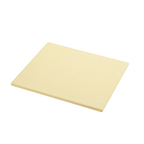 "KIBOW 14""X 16"" Rectangular Cordierite Ceramic Pizza Grilling Stone for Ovens & Grills"