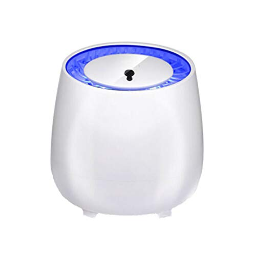 USB Mosquito Lamp,Fheaven Electric Mosquito Killer Lamp Anti Mosquito Trap LED Night Light Pest Repeller for Baby Room (White)