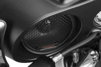 06-13 HARLEY FLHX2: Kuryakyn Road Thunder Fairing Speaker Kit (Satin Black)