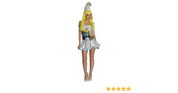 Horror-Shop Sexy Disfraz De Pitufina M / 38: Amazon.es: Juguetes y ...