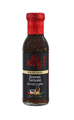 House of Tsang Korean Teriyaki Stir-Fry Sauce, 11.5 Ounce (Pack of 6)