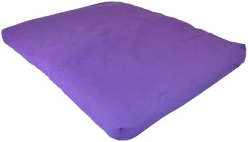 Amazon.com : Yoga Direct Purple 100-Percent Cotton Zabuton ...