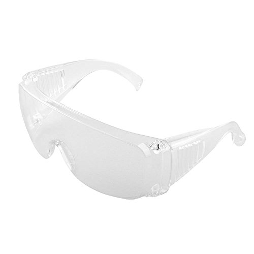 Vin beauty New Transparent Clear Goggles Glasses From Lab Dust Pain Portable Useful Safety Eye - Goggles Stylish New
