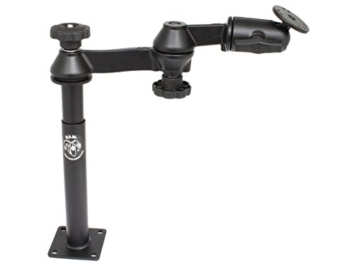 RAM MOUNTING SYSTEMS RAM Mount Double Swing Arm 8'' Male 9'' Female Tube / RAM-VP-SW1-89 /