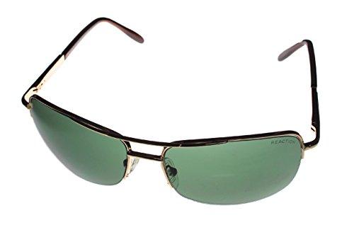 Kenneth Cole Reaction 'KC1149' Sunglasses,Shiny Light - Men Cole Sunglasses Kenneth Reaction