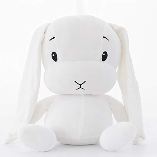 White 65cm CGDZ cute rabbit plush toy soft stuffed animal toy long ears bunny sleeping dolls for kids White 65cm