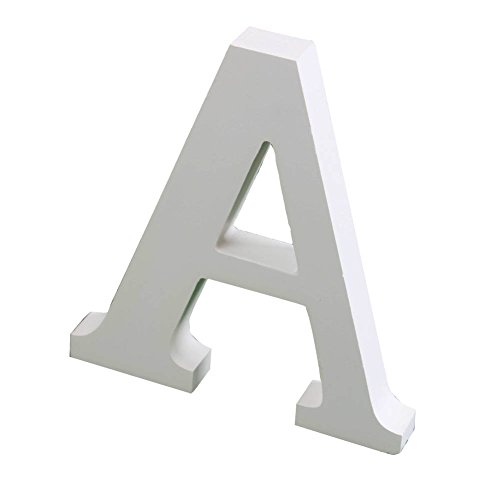 """Yuxule Large White Wooden Letters Crafts Home Office Wall Wedding Party Birthday Decorations(Hight:15cm/6"""")"""