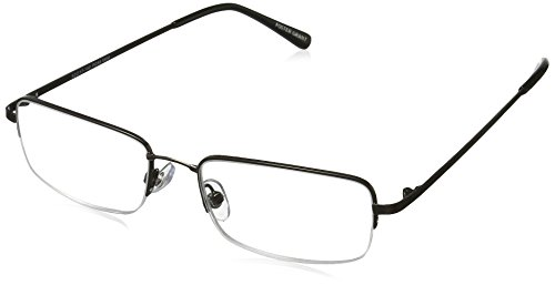 ee6039d02756 Foster Grant Men s Hf 22 1017550-175.COM Rectangular Reading Glasses