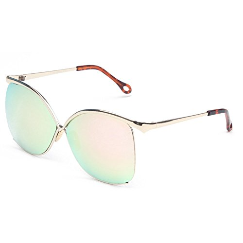 Sinkfish SG80055 Sunglasses for Women,Anti-UV & Fashion - UV400/Ivory Frames/Cyan Lens (For Sunglasses Oakley Sale)