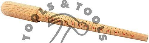haute qualité en bois Mandrin de Bague ~ EN BOIS BAGUIER tailles 3-15 Bijoux outil Tools N Tools UK