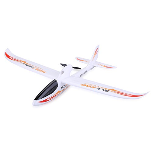 Wltoys F959 RC Airplane Aircraft 2.4GHZ 3CH Sky King (Flying Time about 15 Minutes, 3D Rolls) - Yellow (King Rc Battery)