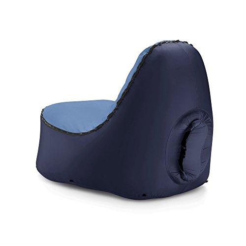 TRONO – La silla hinchable al aire libre, con soporte de espalda sin deformación| ¡No te conformes con descansar en una hamaca! ¡Hazlo en un sofá al ...