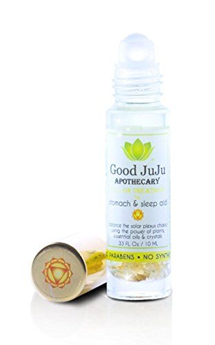 All Natural Sleep Easy Organic Tummy Rub Roll On Oil. Natural Stomach and Stress Relief. Citrine Crystals, Organic Chamomile and Lavender. Soothes Heartburn, Insomnia and Colic. Safe for Babies ()