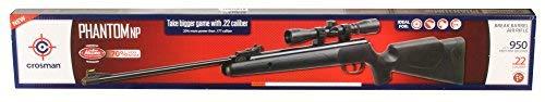 Crosman Phantom NP CPNP22SX Nitro Piston Tech Hunting Air Rifle w/4x32 Scope (Ruger Targis 177 Pellet Rifle With 4x32 Scope)