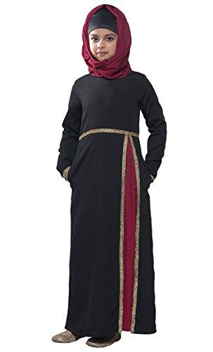 Kleid Schwarz East Durchgehend Schwarz Damen Essence 06F6E