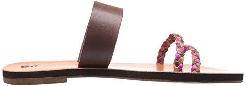Footwear Talla Zapato Mujeres brown multi Destalonado Bc Marrón 14AqnR