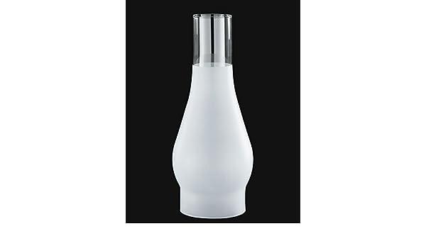 "B/&P Lamp® 2 5//8/"" X 8 1//2/"" Chimney 3//4 Frost"