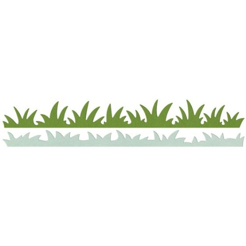 QUICKUTZ Lifestyle Crafts Grass Edges Die Set