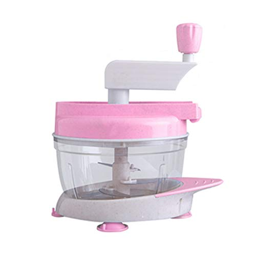 Jielongtongxun Chopper, Vegetable Cutter, Vegetable Cutter For Home Kitchen, Suitable For Meat, Vegetables, Fruits And Nuts, 2823cm youth (Color : Pink, Size : 2823cm)