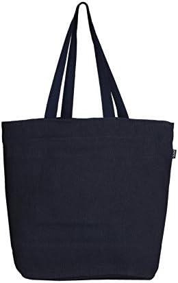 EONO Grande de la lona tote bag tela bolso de compras verduras ...