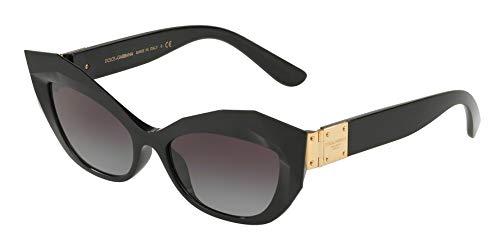 Dolce & Gabbana Women's 0DG6123 Black/Grey Gradient One Size (Dolce Und Gabbana Sport-tasche)