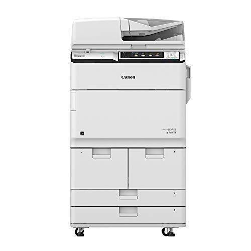 - Canon ImageRunner Advance 6575i A3 Monochrome Laser Multifunction Printer - 75ppm, Copy, Print, Color, Scan, Send, Store, Auto Duplex, Network, Mobile Printing, 2 Trays, Dual Drawers