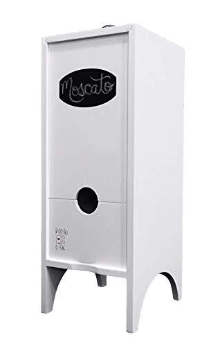 Little Nook Box Wine Dispenser by Wine Nook (White)