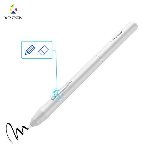 XP-Pen PN01 Battery-Free Passive Stylus Only XP-Pen Star Star01, 02, 03,06, G430(S), G540 Tablet (White)