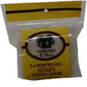 Applicator and More Lambswool Stain Applicator
