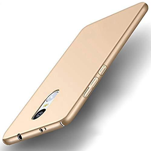 wow imagine ultra slim [non slip] all sides protection 360 degree lightweight rubberised matte hard case back cover for xiaomi mi redmi note 4   champ