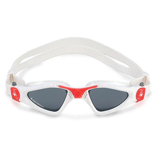 Aqua Sphere Kayenne Ladies Swimming Goggles Smoke Lens, White & Coral UV Protection Anti Fog Swim Goggles for Women by Aqua Sphere (Image #3)
