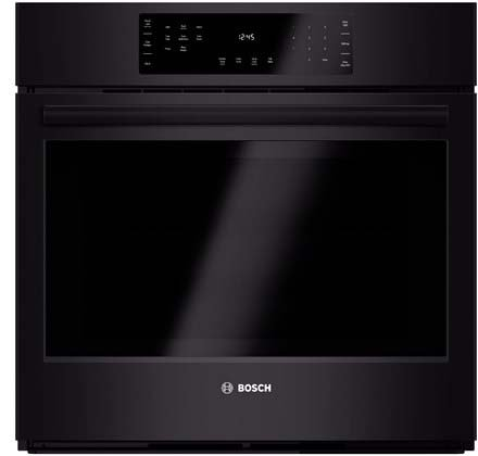 Bosch HBL8461UC 800 30″ Black Electric Single Wall Oven – Convection