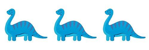 Darice Natural Wood Painted Dinosaur Shapes  Brachiosaurus Cutouts - Set of (Painted Wood Shapes)