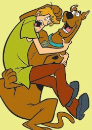 Scooby Doo and Shaggy Large Children's