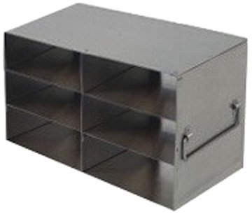 Alkali Scientific UFD-233 Stainless Steel Cryostorage Box Drawer Rack for 3