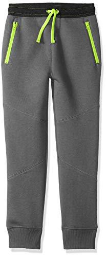- Spotted Zebra Big Boys' Zip Pocket Jogger Pants, Grey, Large (10)