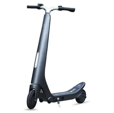 Trottinette électrique Bluetooth, LG, pliable gris: Amazon ...