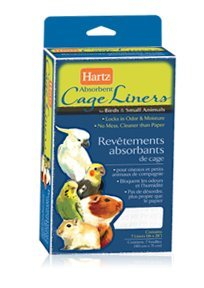 Hartz 02913 Living Absorbent Cage Liners For Birds & Small Animals