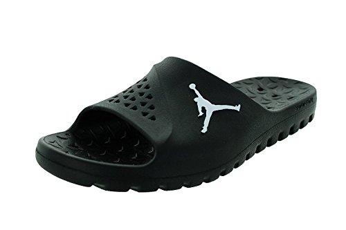 bcd7c0d38c40c Nike Jordan Mens Jordan Super.Fly Team Slip Black White Black Sandal 10 Men  US - Buy Online in Oman.