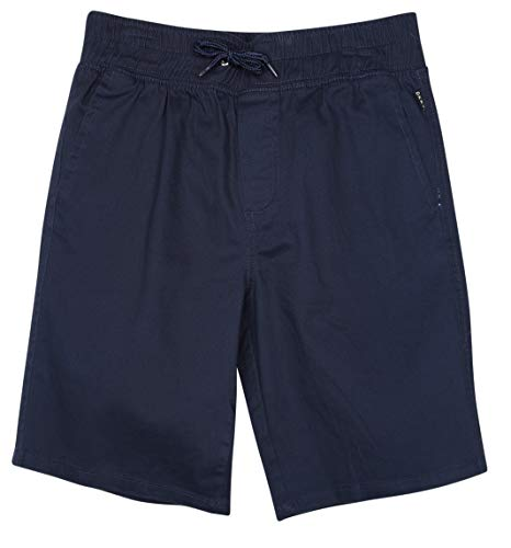 - DKNY Boys' Comfortable Pull On Twill Shorts, Peacoat, Size Small / 8'