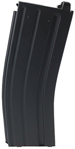 SportPro 120 Round Metal Medium Capacity Magazine for AEG PTW Airsoft – Black
