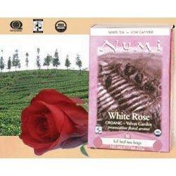 Numi Tea White Rose - Velvet Garden White Tea Teabags