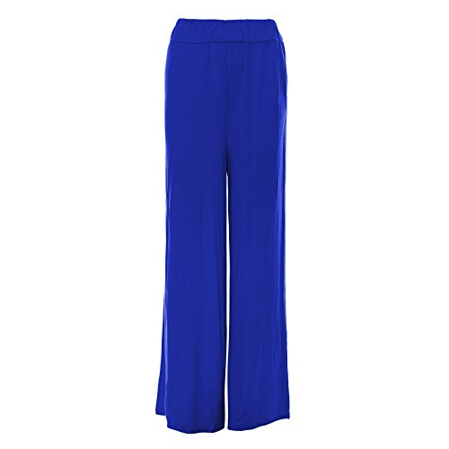 e6e27f053ec5 RIDDLED WITH STYLE Womens Baggy Wide Legged Ladies Trousers Pants Flared  Palazzo Leggings Plus Size - Buy Online in Oman.