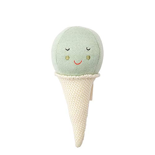 (Meri Meri Mint Ice Cream Baby Rattle)