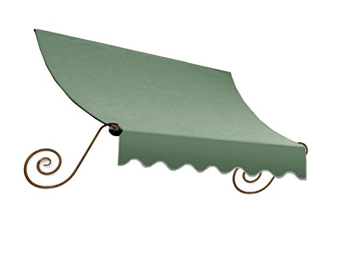Awntech 3-Feet Charleston Window/Entry Awning, 44 by 24-Inch, Sage ()