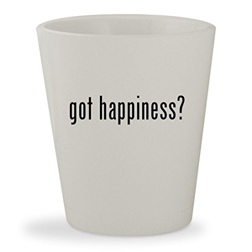 got happiness? - White Ceramic 1.5oz Shot - Lyrics About Sunglasses