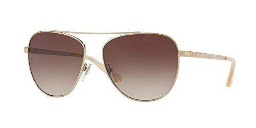 DKNY Women's Metal Woman Aviator Sunglasses, Gold, 58 mm (Aviator Sunglasses Dkny)