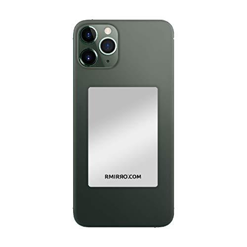 RMIRRO Specchio per Selfie e Video TIK TOK Dimensioni 6,5x4,5cm Compatibile con Tutti Gli Smartphone. con Adesivo 3M sul Retro per incollare Lo Specchio allo Smartphone