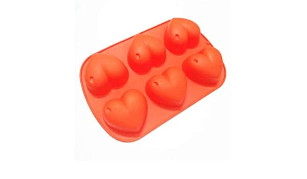 Amazon.com: 1 piece Big Heart Shape Silicone Mold Soap Forms Cake Decorating Tools Moule Silicone Patisserie 3D Moldes De Silicona Para Reposteria: Kitchen ...